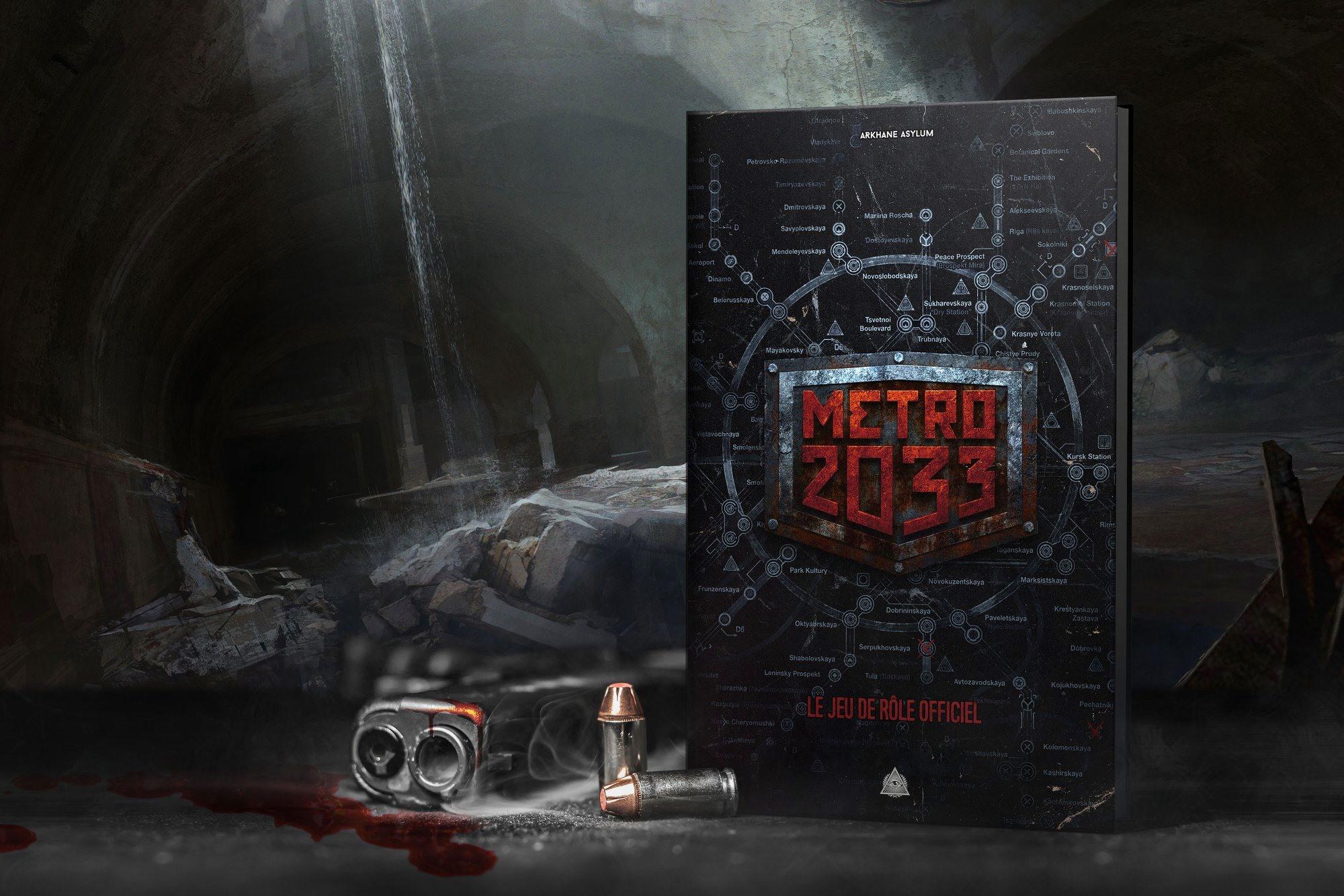 Французский издатель выпустит НРИ по вселенной «Метро 2033» — на основе правил «Точка отсчёта»