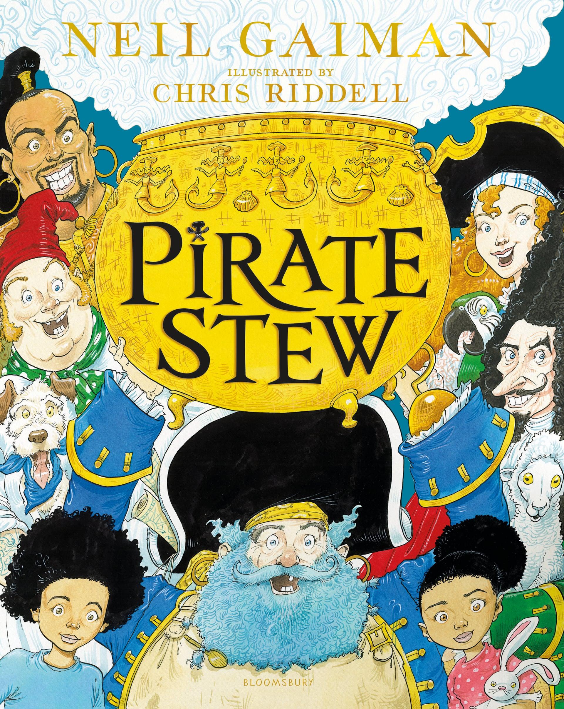 Нил Гейман и иллюстратор Крис Риддел выпустят книгу о пиратах и кулинарии Pirate Stew 6