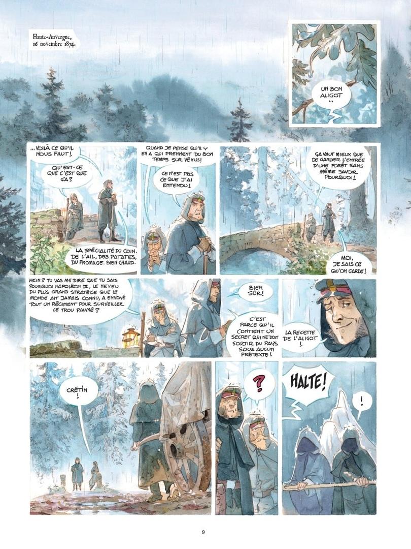 Арт: первые кадры пятого тома «Звёздного замка» Алекса Алиса 1