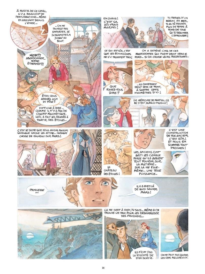 Арт: первые кадры пятого тома «Звёздного замка» Алекса Алиса 2