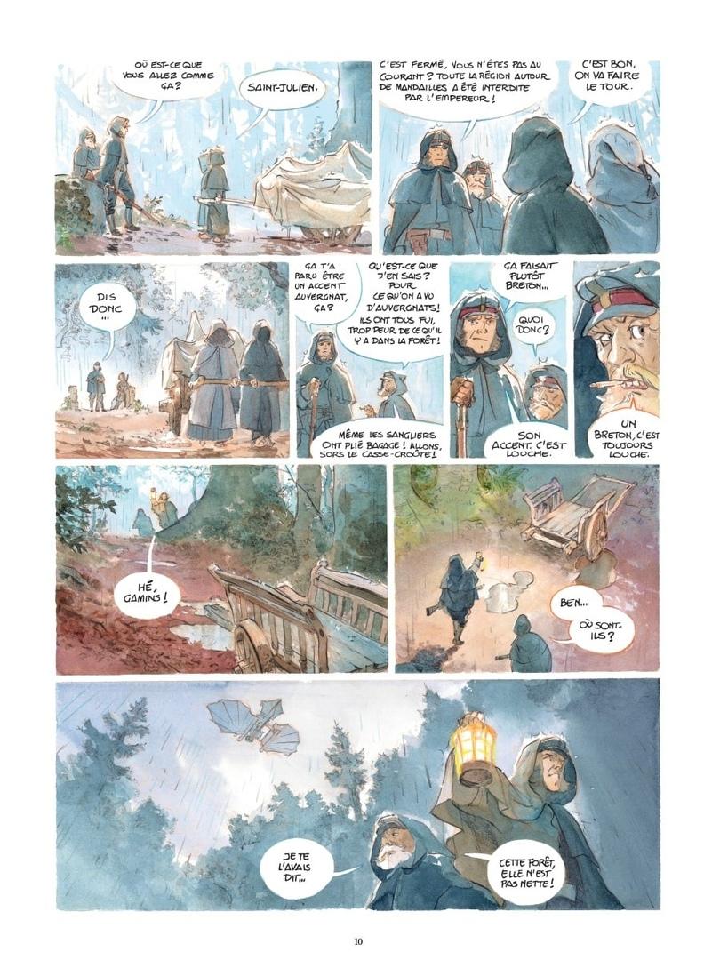 Арт: первые кадры пятого тома «Звёздного замка» Алекса Алиса 3