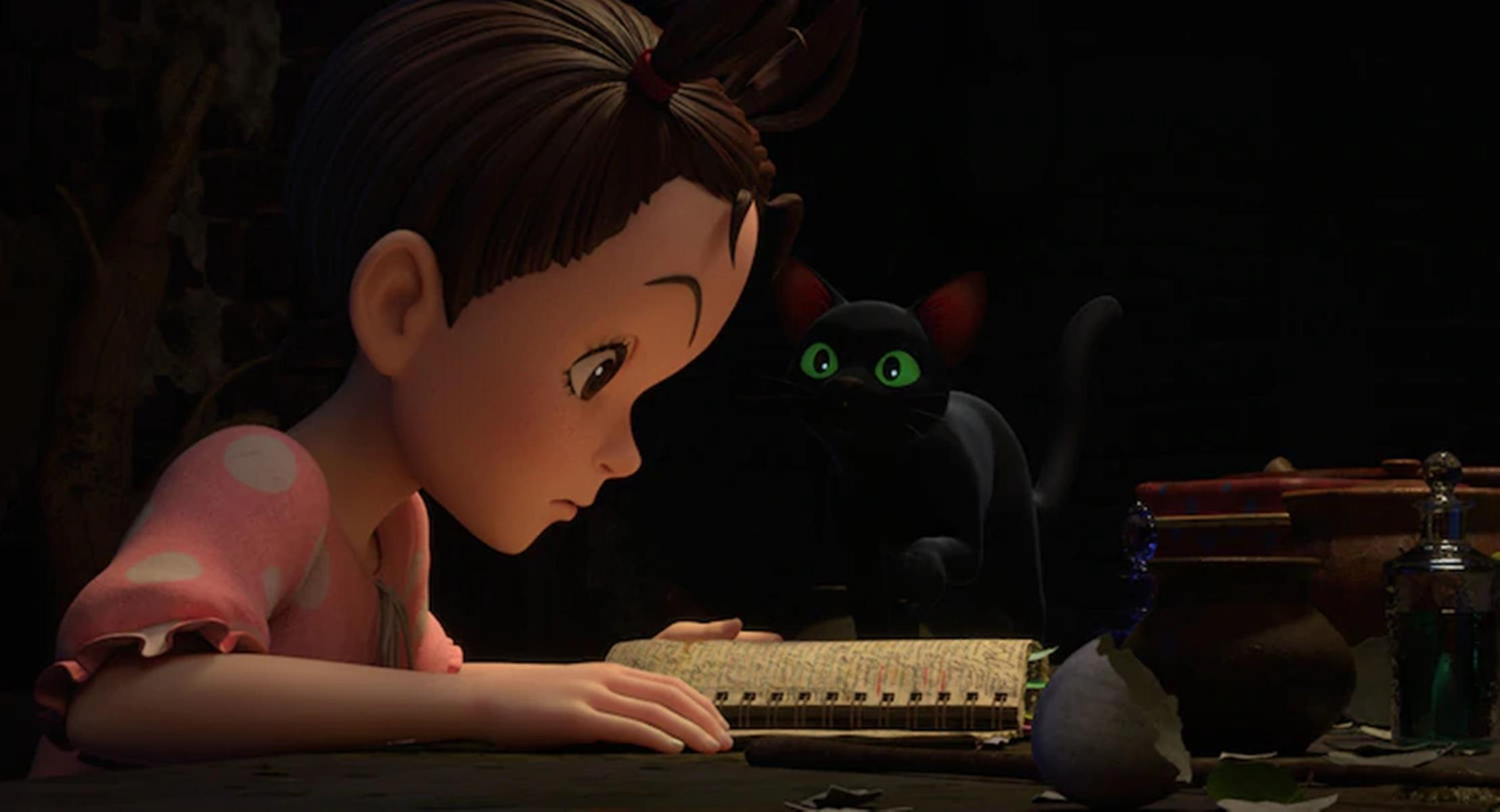 Ghibli показала постер и кадры «Аи и ведьмы» — первого полнометражного CG-проекта студии 6