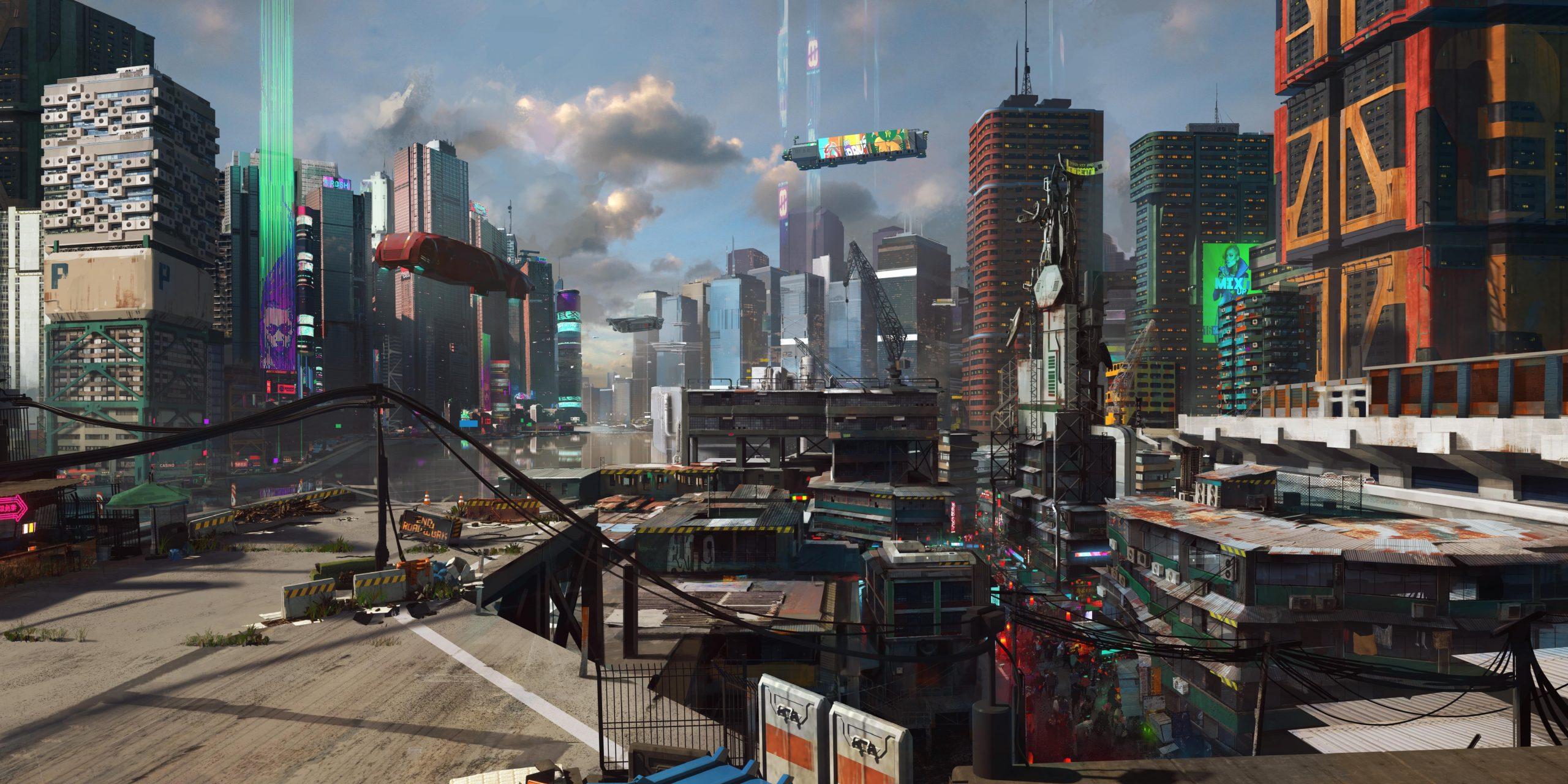 Трейлер, геймплей ианиме отTrigger — что показали напрезентации Cyberpunk 2077? 22