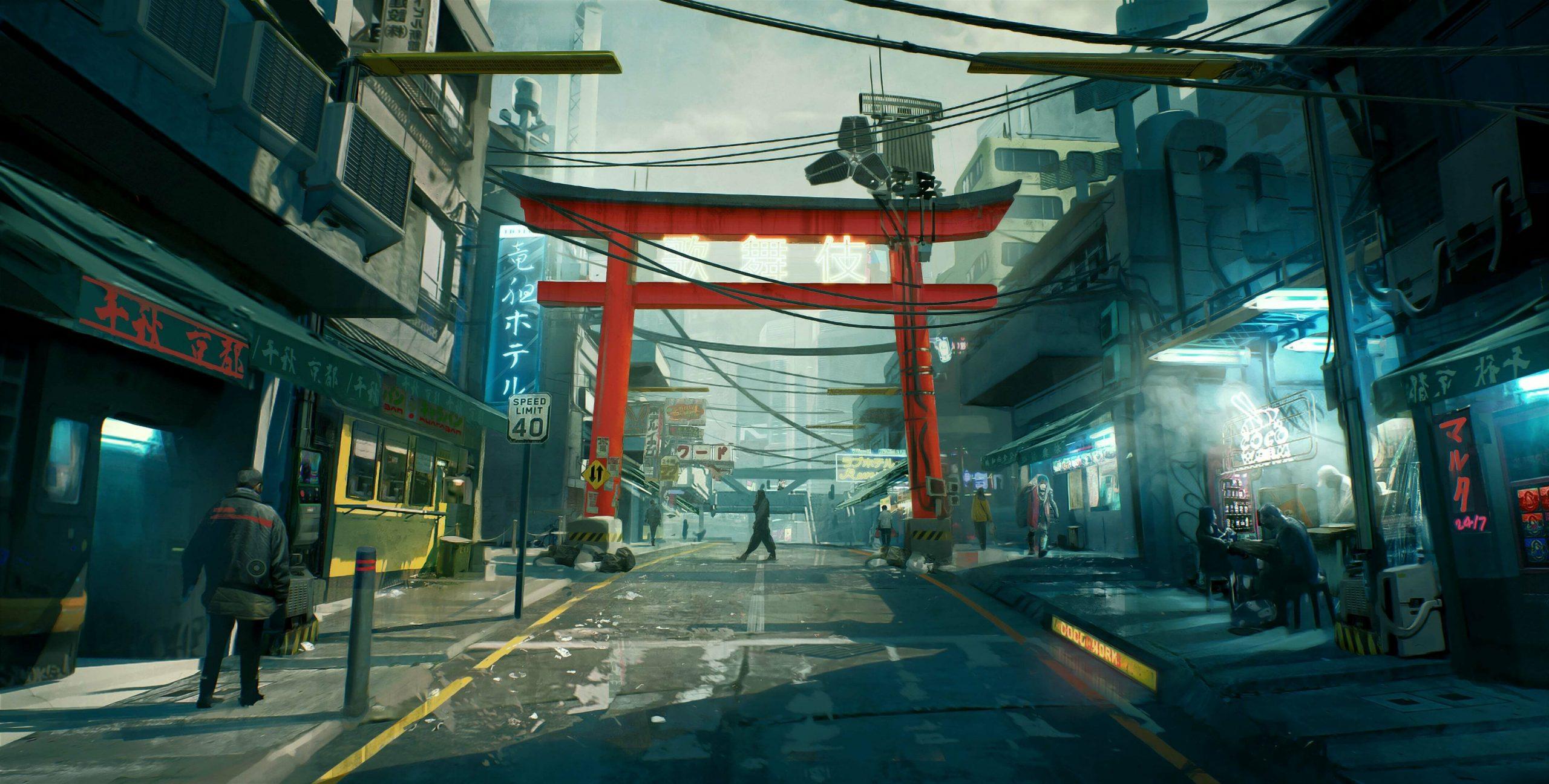 Трейлер, геймплей ианиме отTrigger — что показали напрезентации Cyberpunk 2077? 20