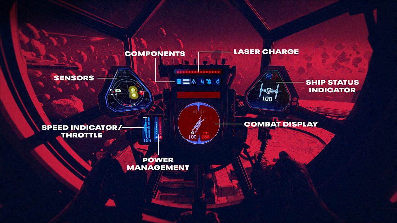 Геймплей и подробности Star Wars: Squadrons 4