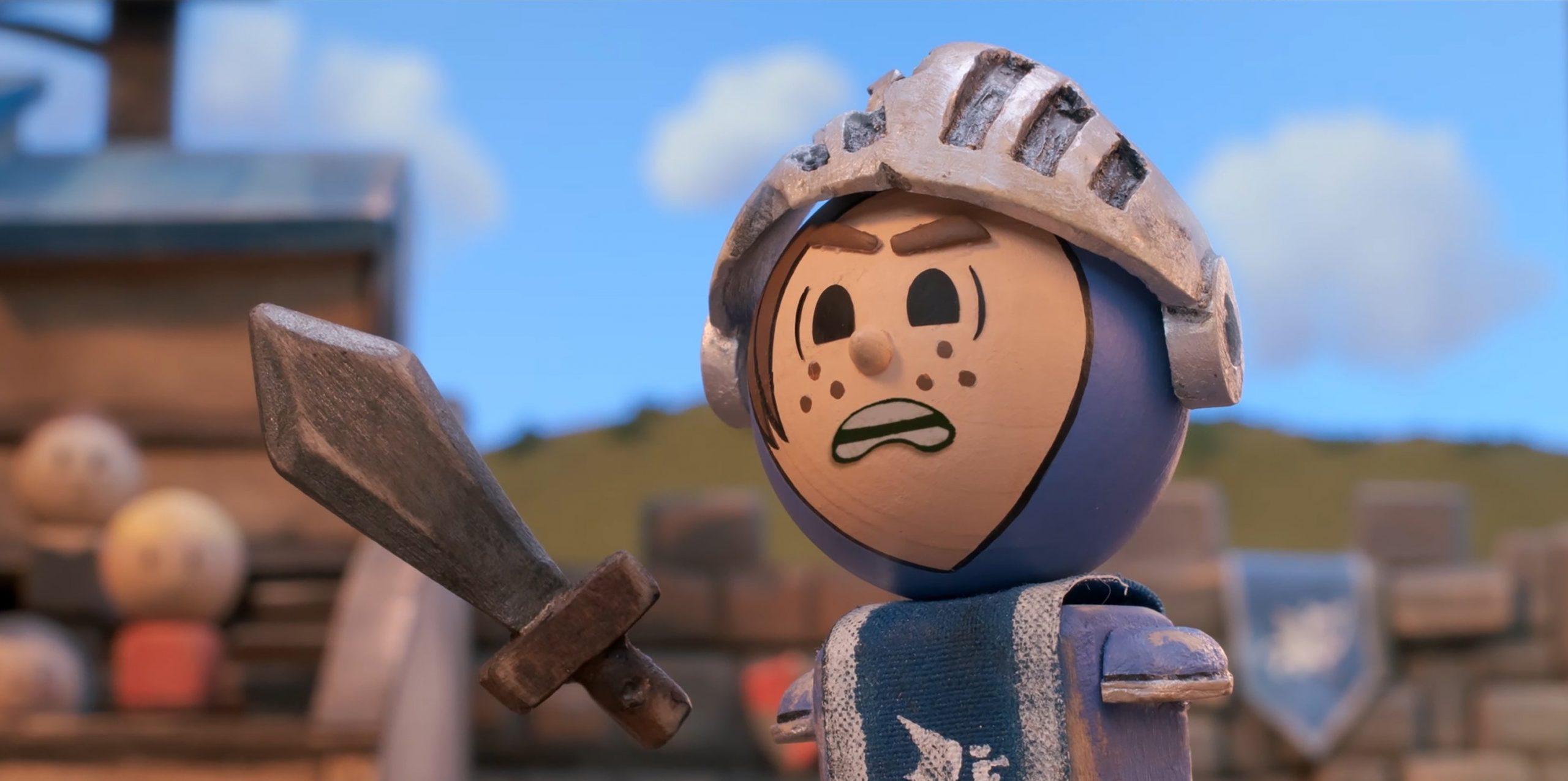 Трейлер мультсериала «Скрестив мечи» в озвучке Сыендука
