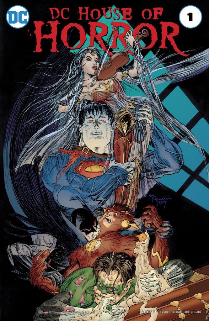 Хоррор-антологии комиксов: от классических монстров к их переосмыслению 11