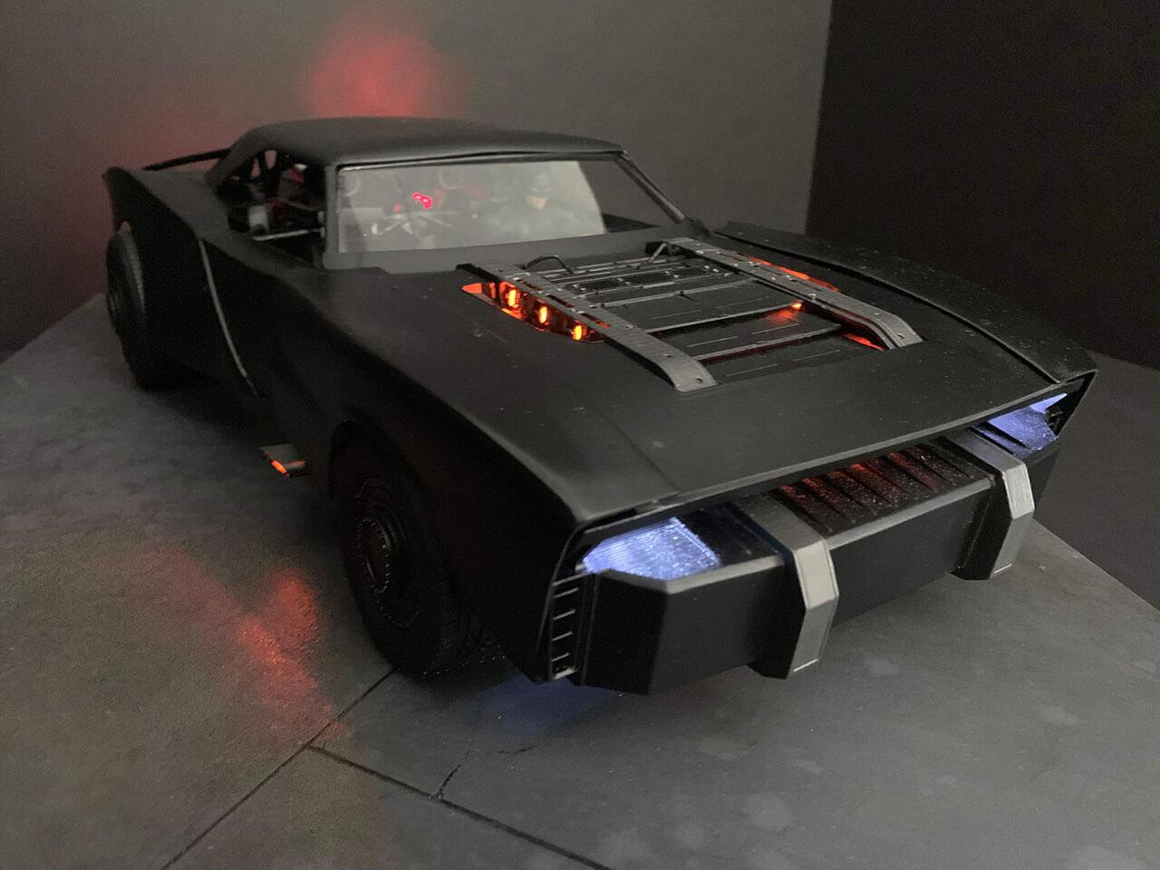 Утечка: вот как будет выглядеть Бэт-мобиль в новом«Бэтмене» Мэтта Ривза