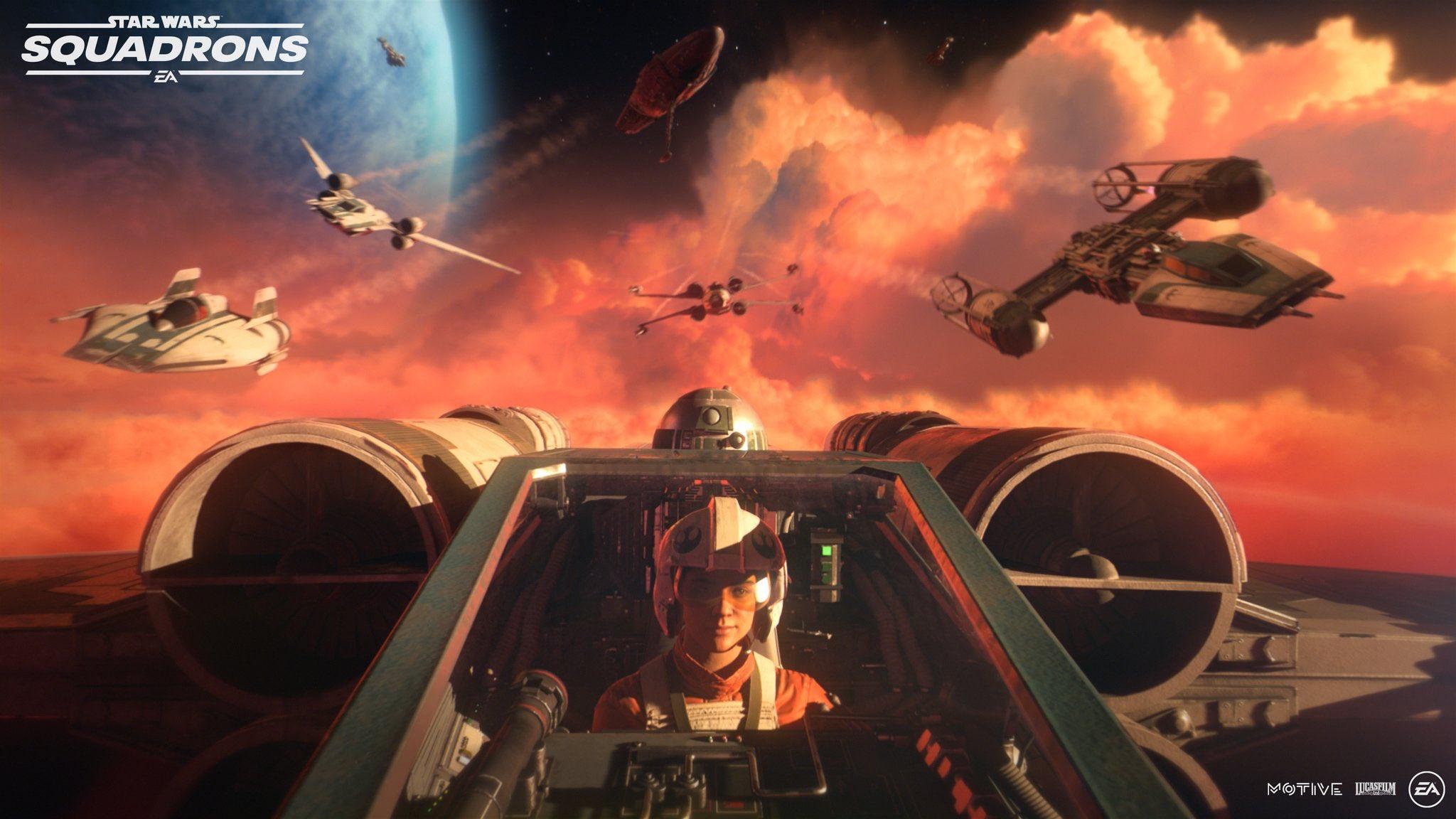 Первый трейлер и детали Star Wars: Squadrons 3