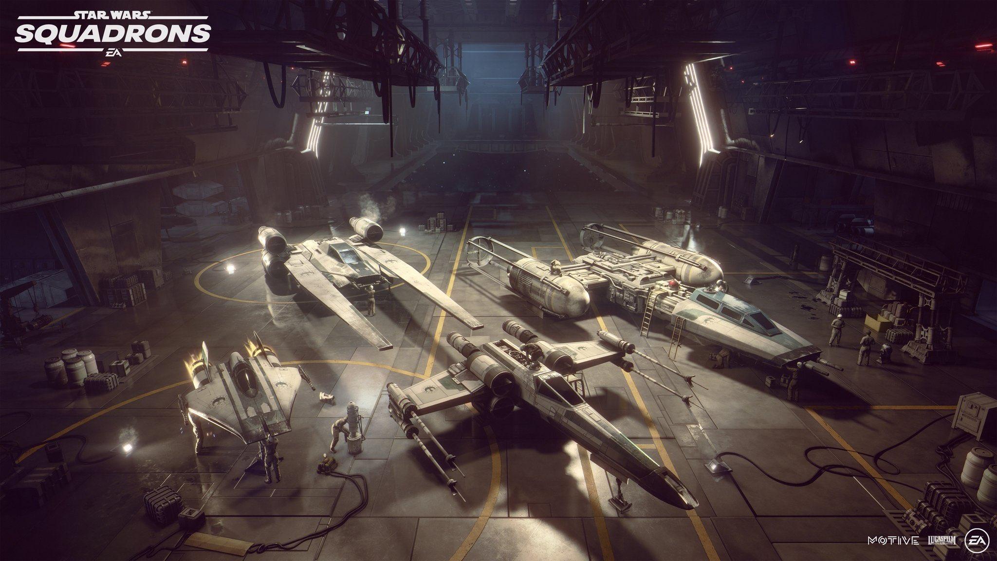 Первый трейлер и детали Star Wars: Squadrons 4