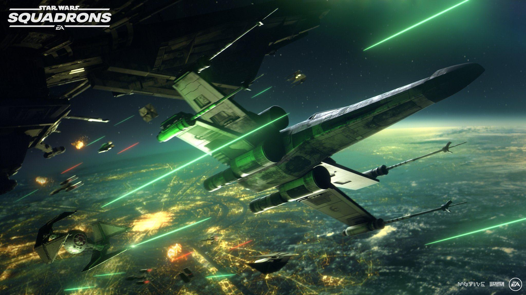 Первый трейлер и детали Star Wars: Squadrons 5