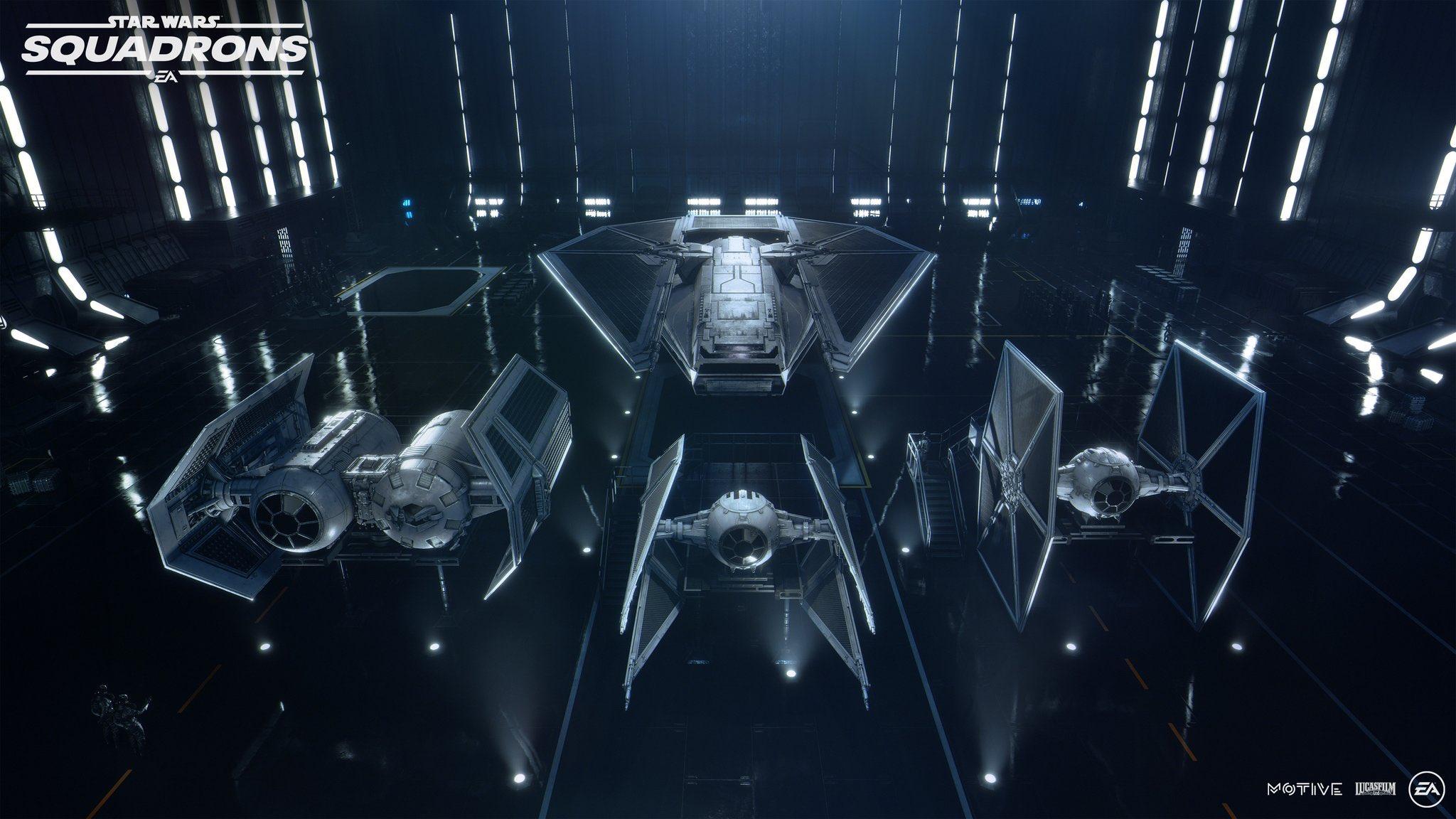Первый трейлер и детали Star Wars: Squadrons 6
