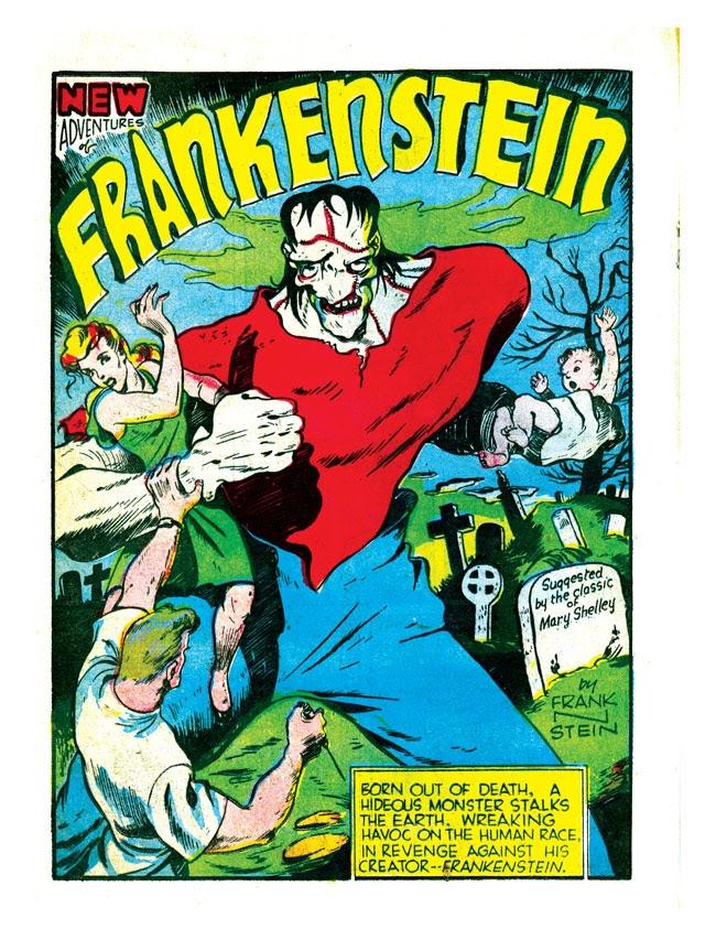Хоррор-антологии комиксов: от классических монстров к их переосмыслению 1