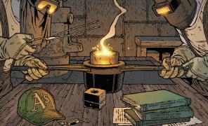 Читаем мистический комикс «Ключи Локков: Альфа и Омега»