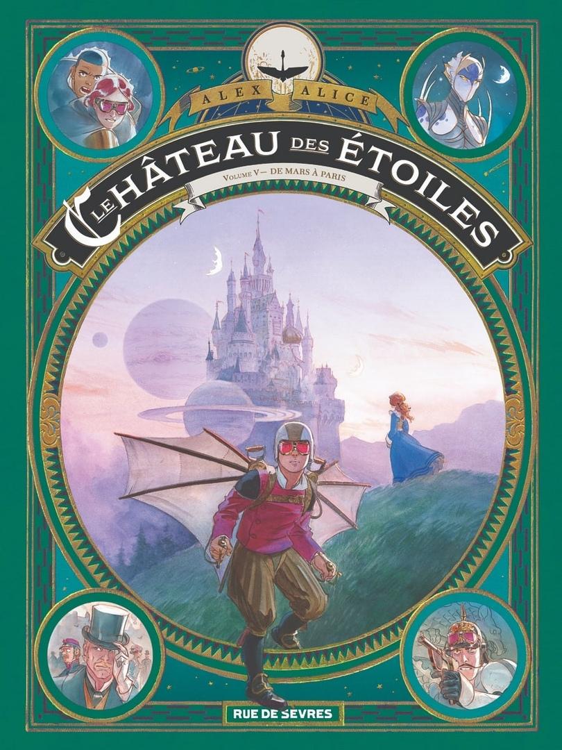 Арт: первые кадры пятого тома «Звёздного замка» Алекса Алиса 5