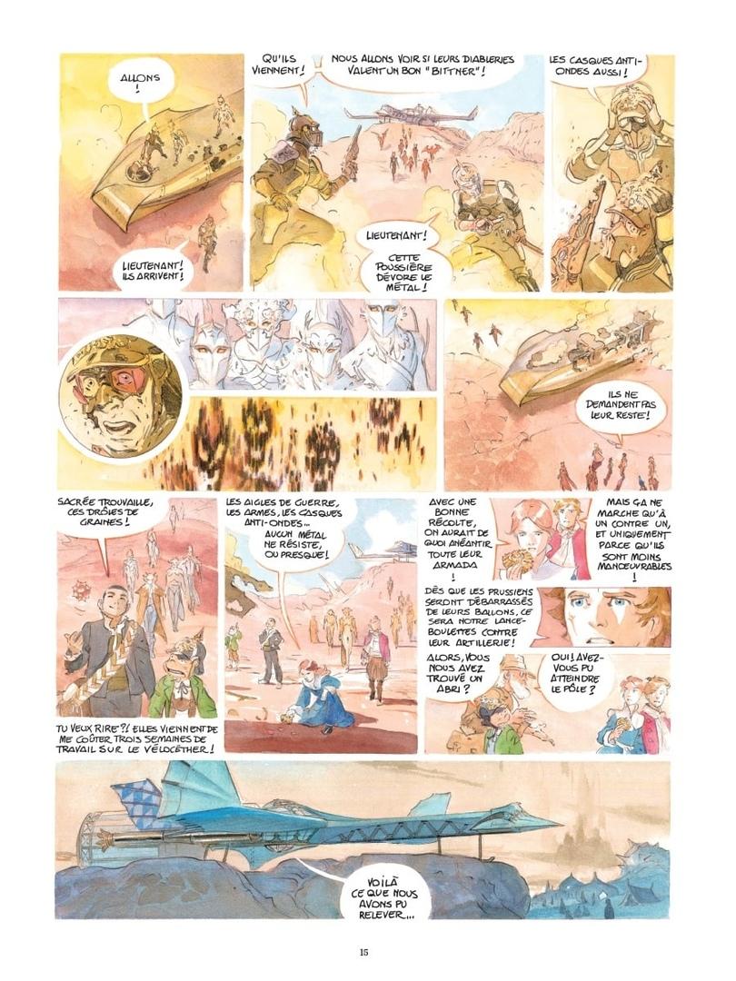 Арт: первые кадры пятого тома «Звёздного замка» Алекса Алиса 6