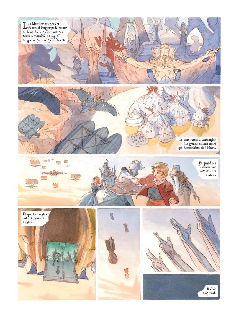 Арт: первые кадры пятого тома «Звёздного замка» Алекса Алиса 9