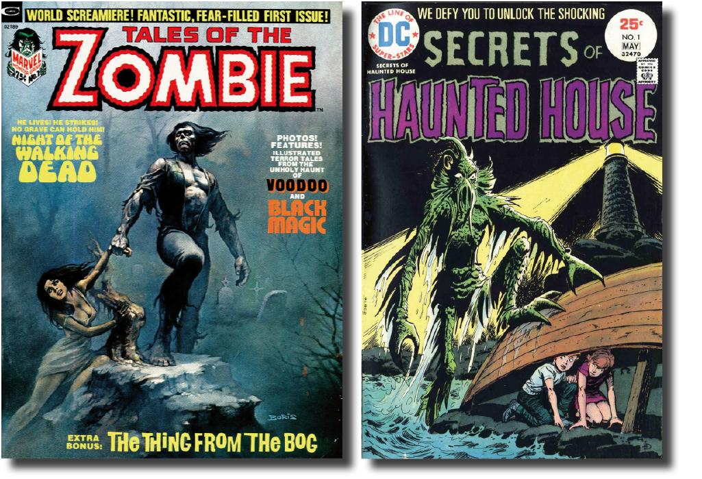 Хоррор-антологии комиксов: от классических монстров к их переосмыслению 9