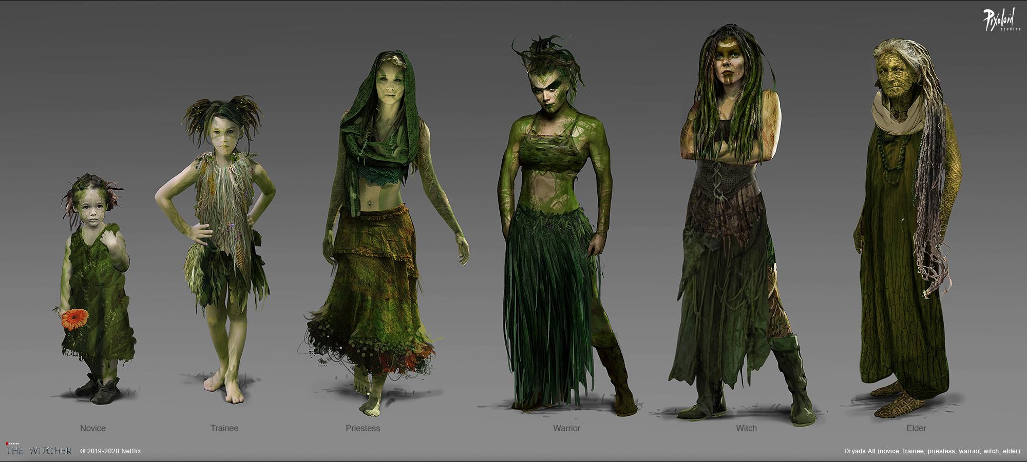 Концепт-арт «Ведьмака»: эльфы-азиты и доспехи Нильфгаарда 1