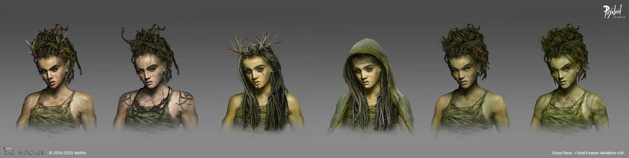 Концепт-арт «Ведьмака»: эльфы-азиты и доспехи Нильфгаарда 2