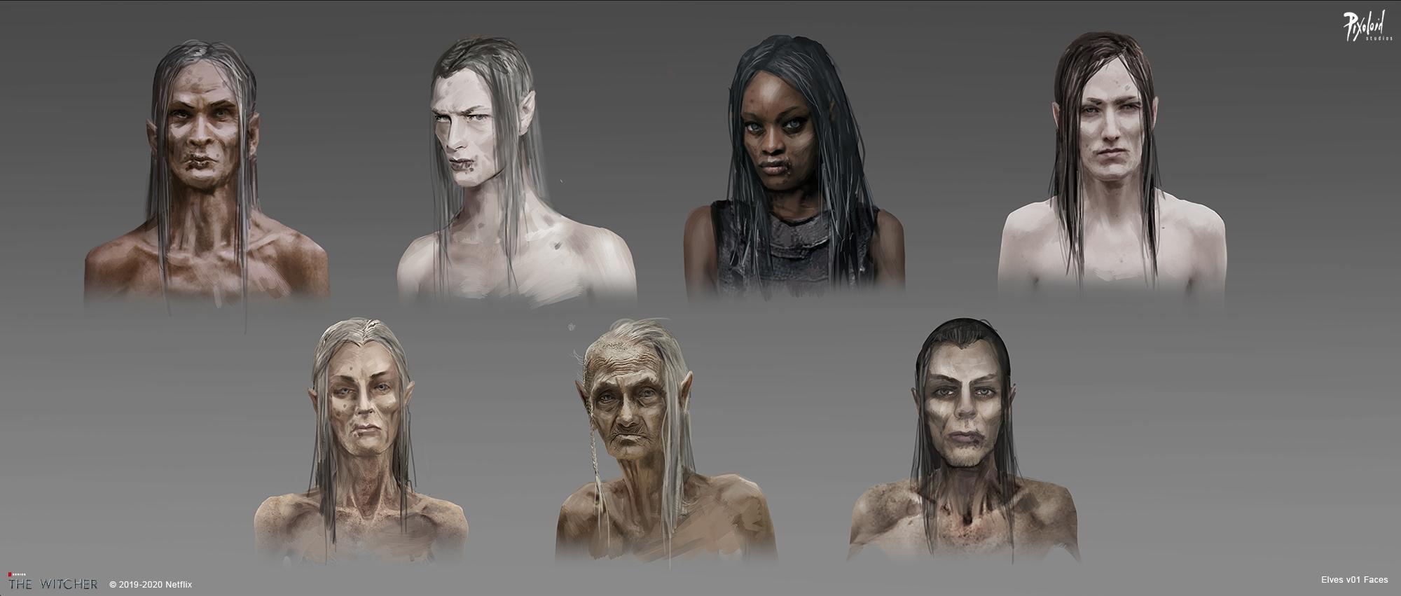 Концепт-арт «Ведьмака»: эльфы-азиты и доспехи Нильфгаарда 7