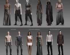 Концепт-арт «Ведьмака»: эльфы-азиты и доспехи Нильфгаарда