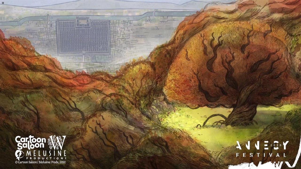 Арт: концепты к мультфильму «Волки-перевёртыши» Томма Мура