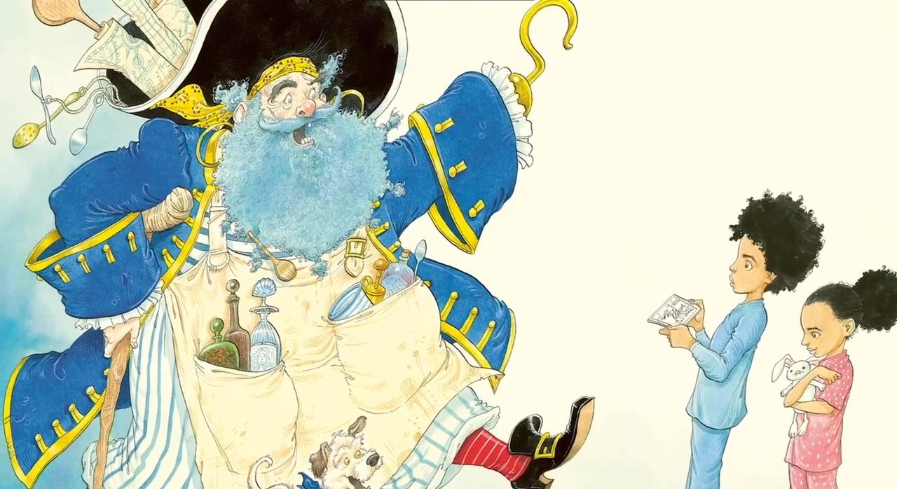 Нил Гейман и иллюстратор Крис Риддел выпустят книгу о пиратах и кулинарии Pirate Stew