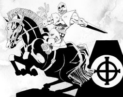 Том Уилер, Фрэнк Миллер «Проклятая»: «Город Грехов» в декорациях артурианы