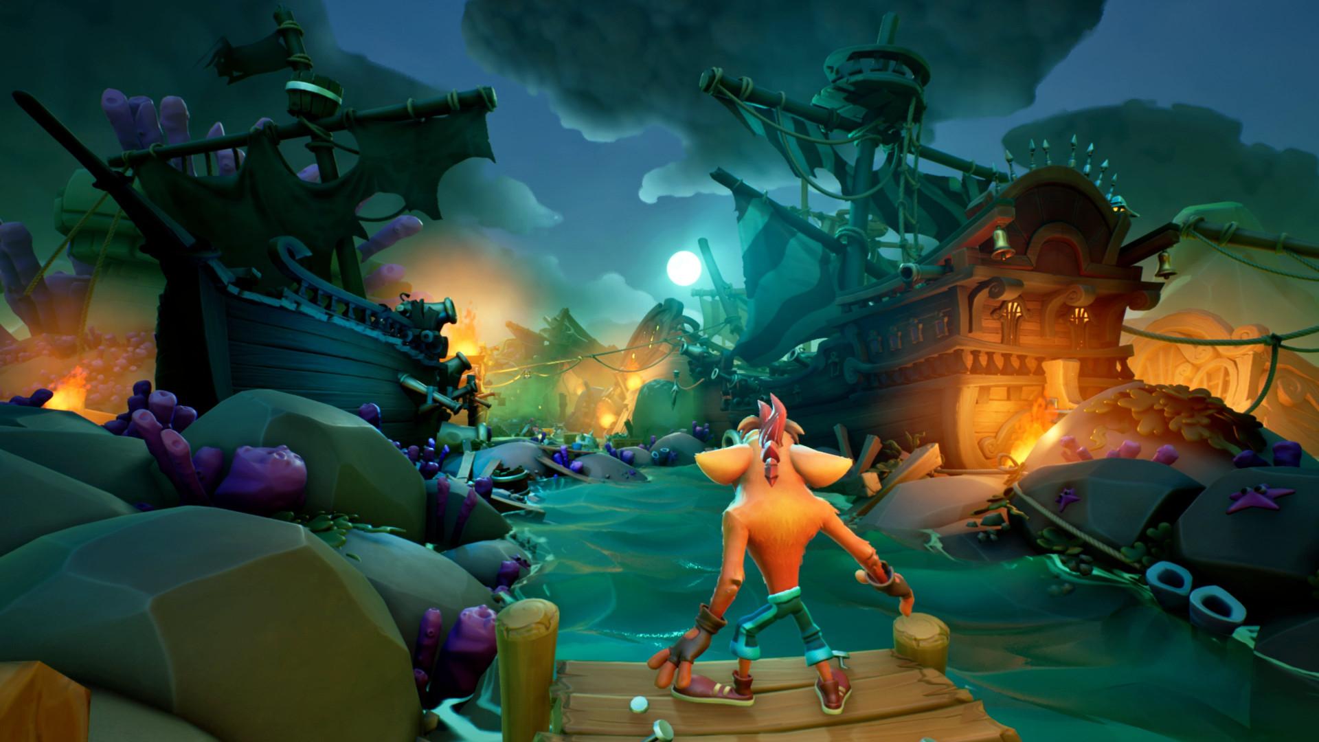Трейлер Crash Bandicoot 4: It's About Time — игра выйдет 2 октября 2