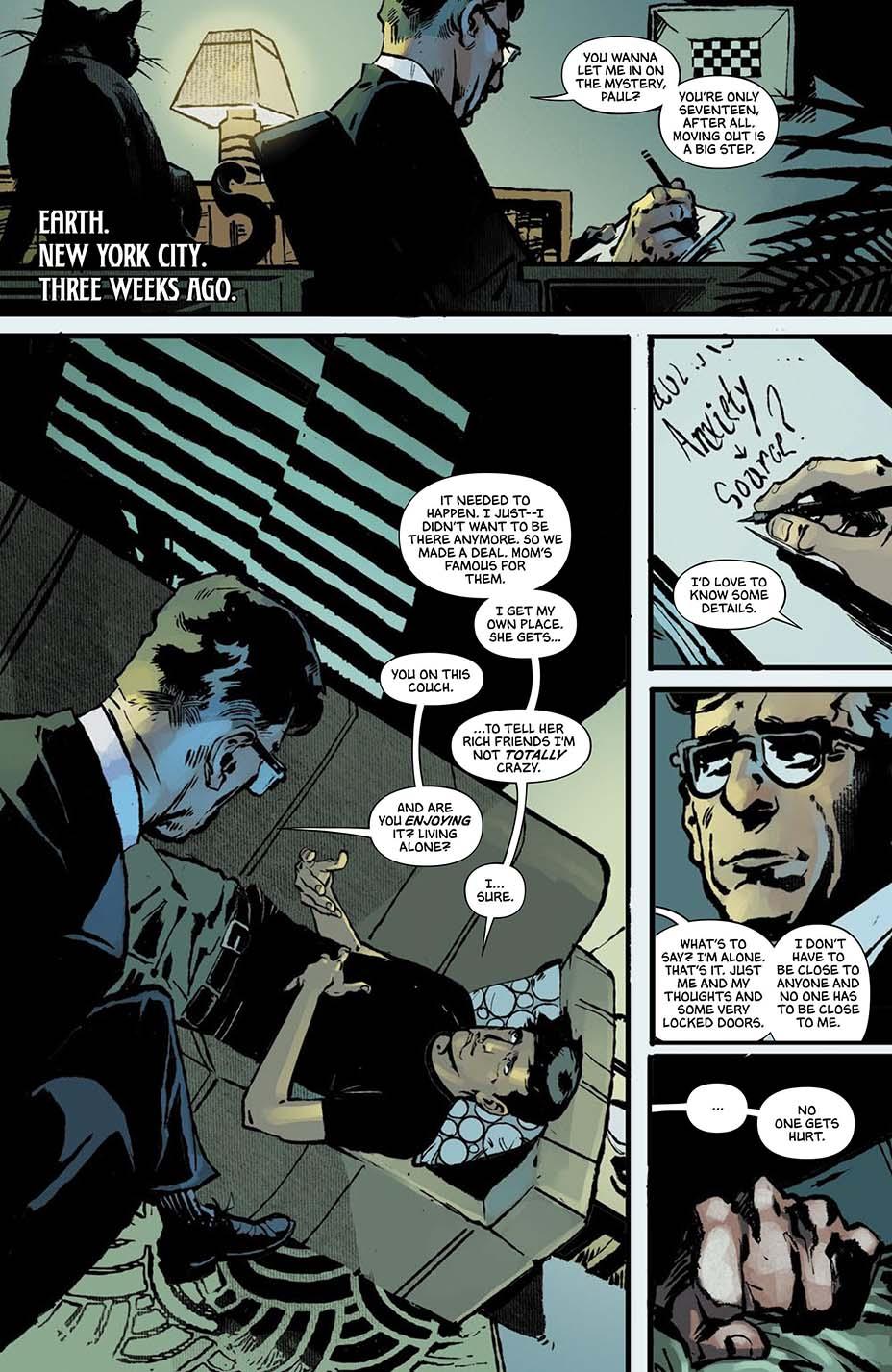THR опубликовал первую главу комикса Dark One Брендона Сандерсона 10