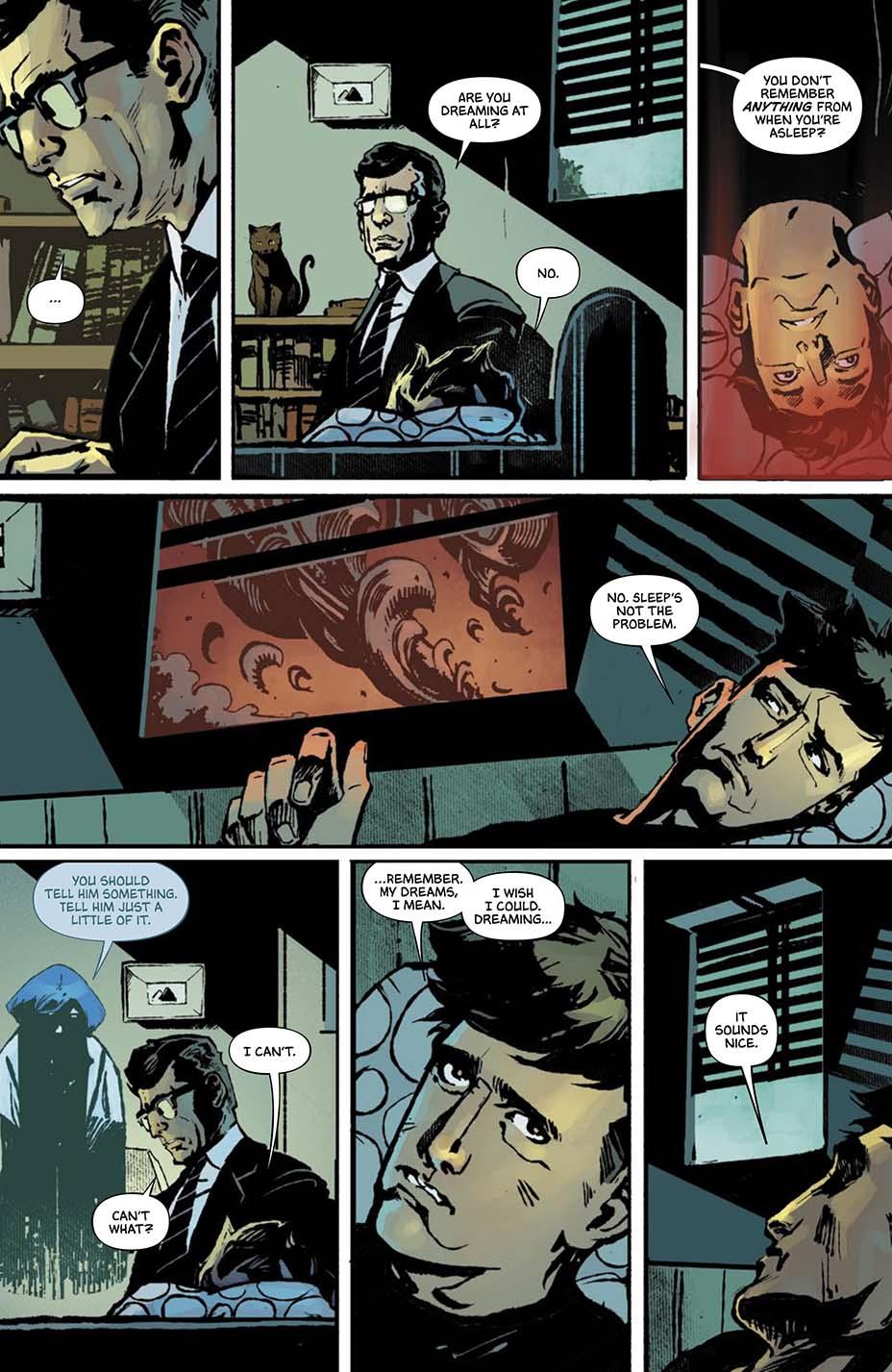 THR опубликовал первую главу комикса Dark One Брендона Сандерсона 11