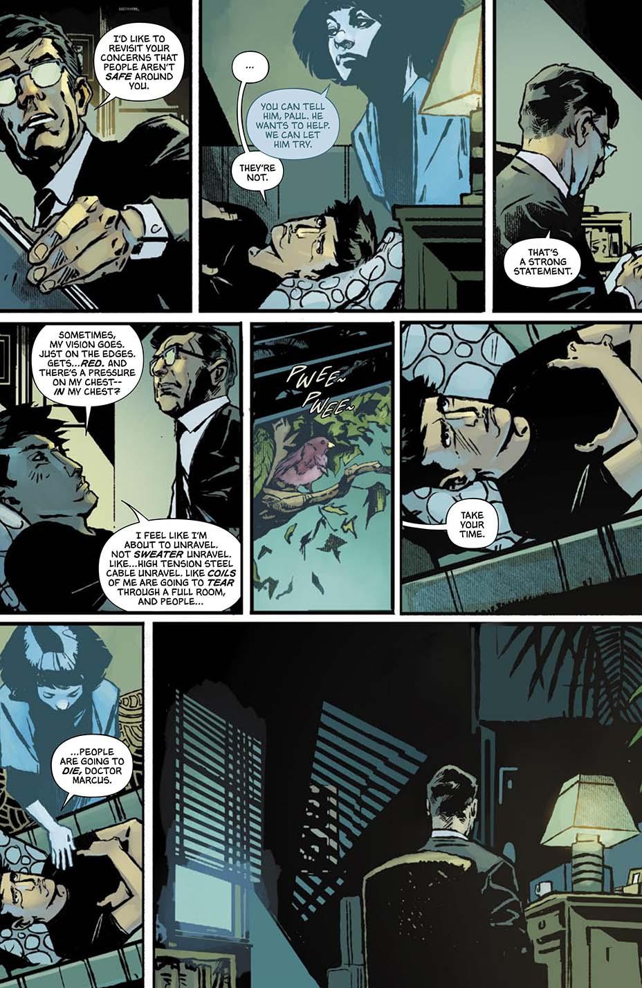 THR опубликовал первую главу комикса Dark One Брендона Сандерсона 12