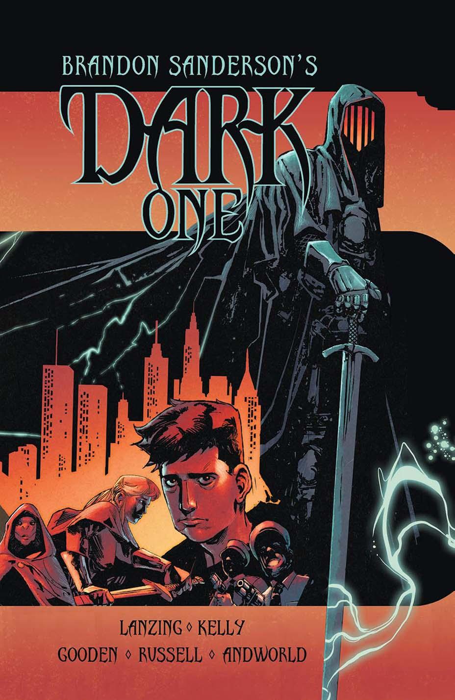 THR опубликовал первую главу комикса Dark One Брендона Сандерсона 4