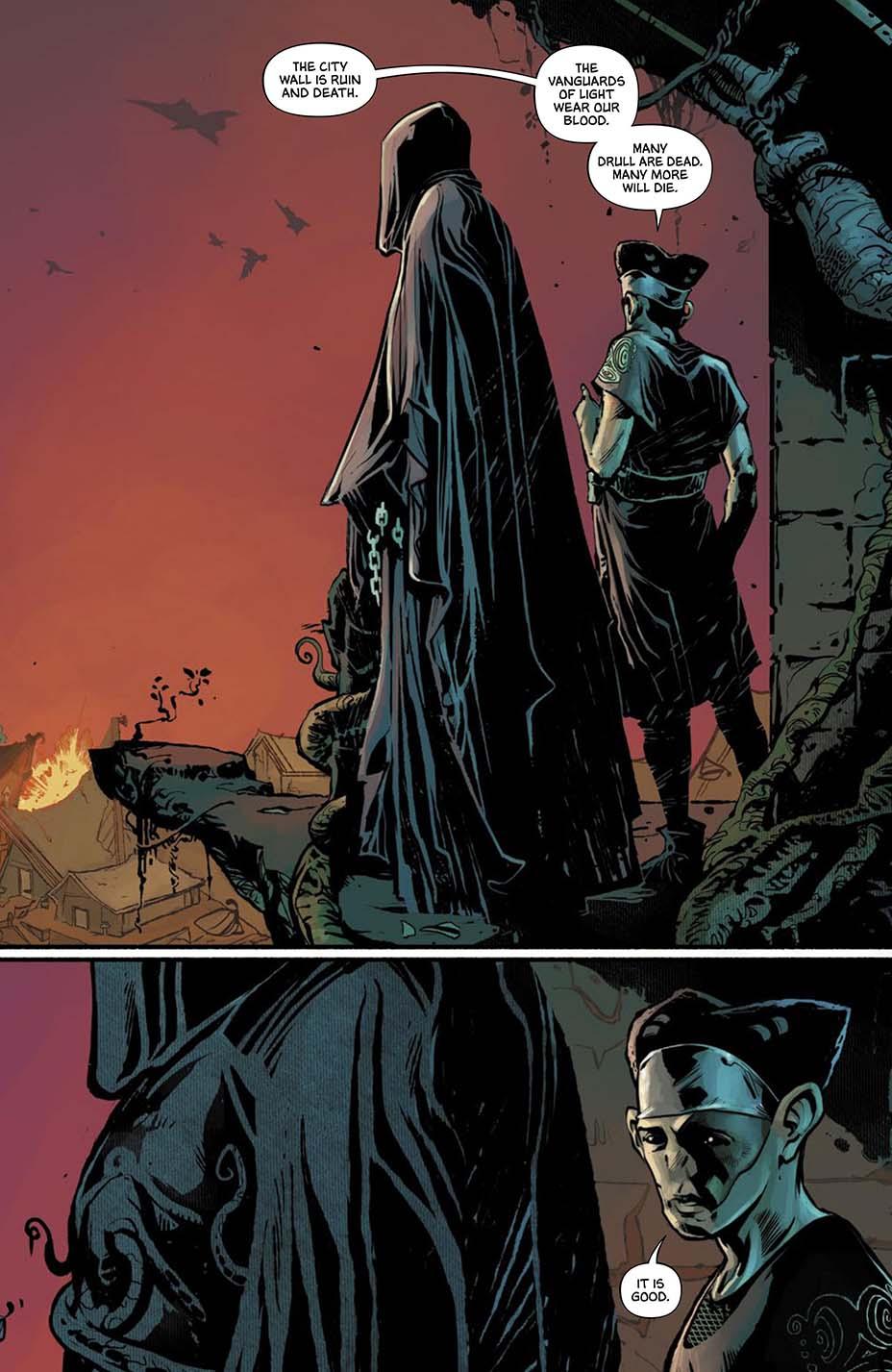 THR опубликовал первую главу комикса Dark One Брендона Сандерсона 5