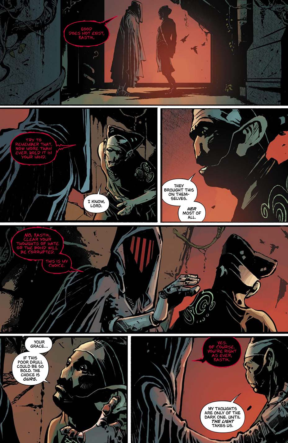 THR опубликовал первую главу комикса Dark One Брендона Сандерсона 6