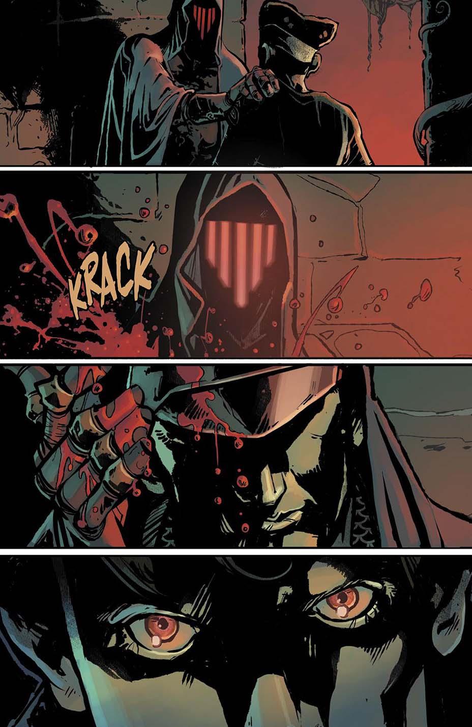 THR опубликовал первую главу комикса Dark One Брендона Сандерсона 8