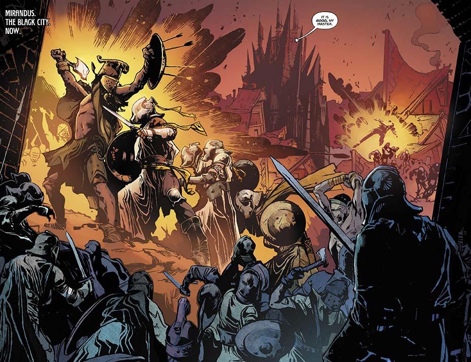 THR опубликовал первую главу комикса Dark One Брендона Сандерсона 7