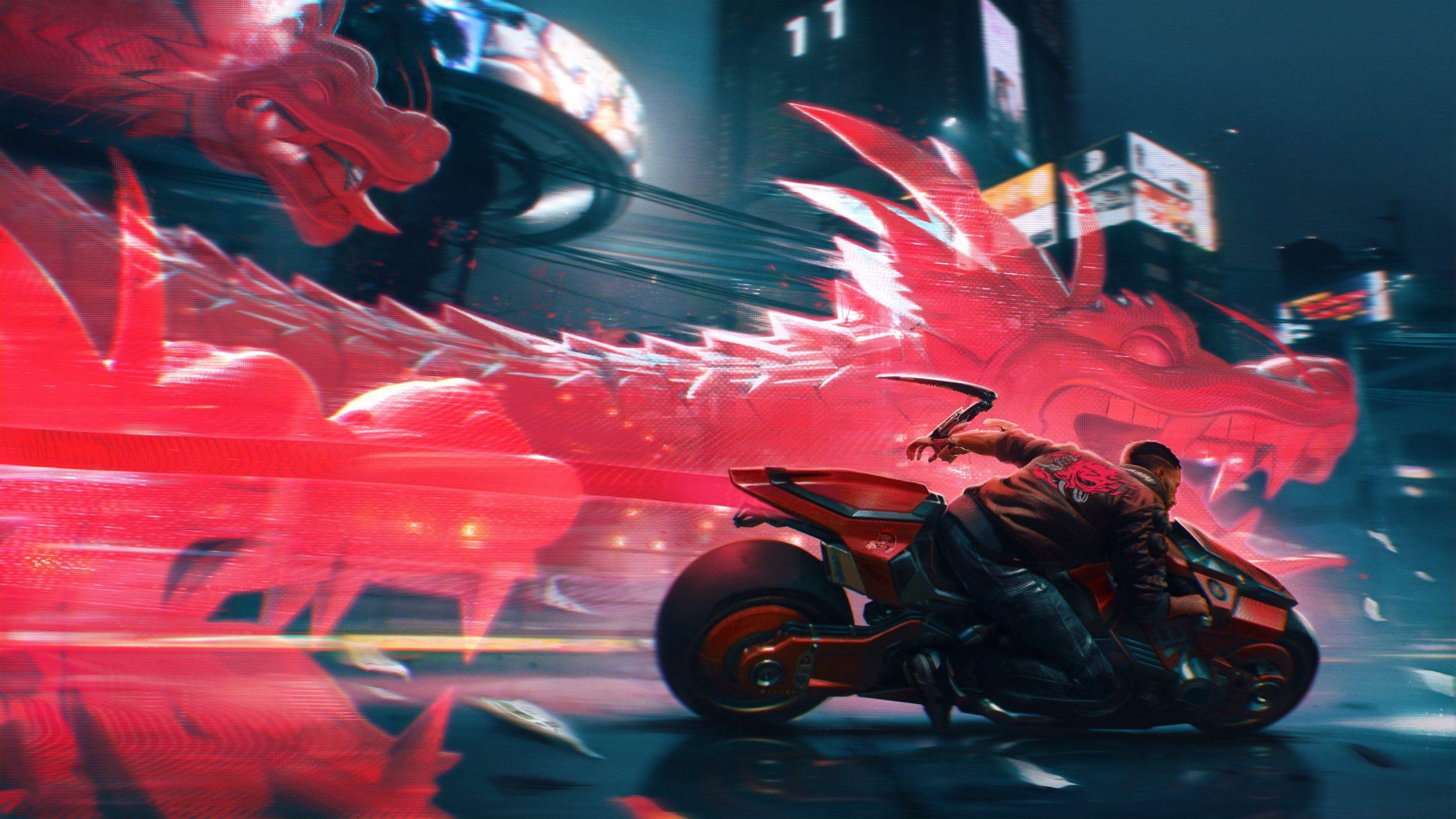 Смотрим около 25 минут нового геймплея Cyberpunk 2077 1