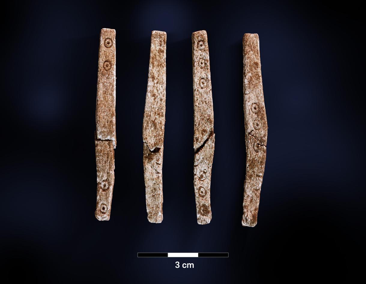 ВНорвегии нашли фрагменты настольной игры 1700-летней давности 1