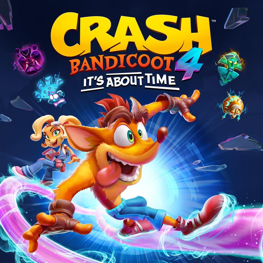 Трейлер Crash Bandicoot 4: It's About Time — игра выйдет 2 октября 7