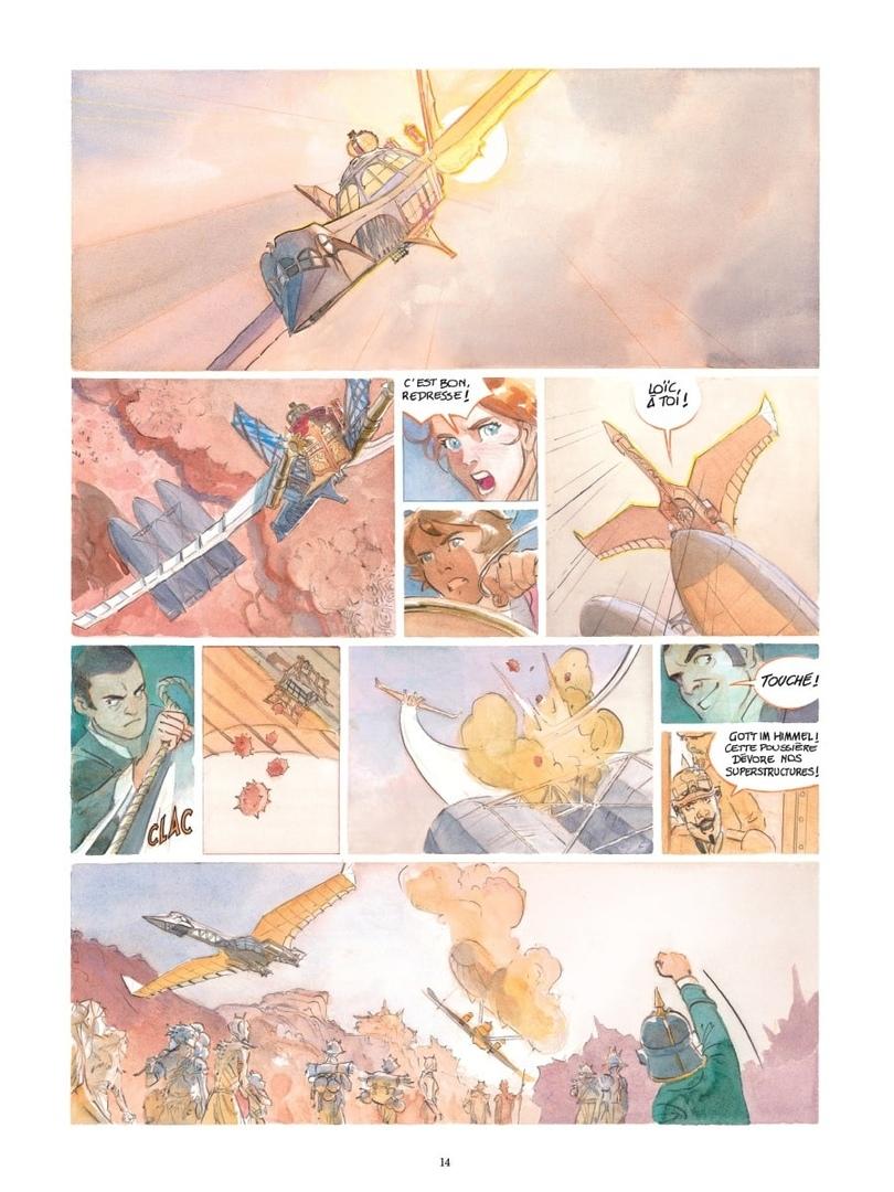 Арт: первые кадры пятого тома «Звёздного замка» Алекса Алиса 4