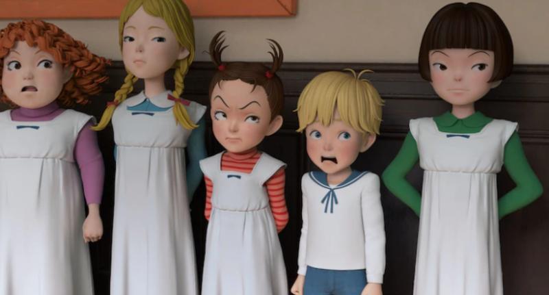 Ghibli показала постер и кадры «Аи и ведьмы» — первого полнометражного CG-проекта студии 2