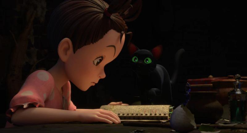 Ghibli показала постер и кадры «Аи и ведьмы» — первого полнометражного CG-проекта студии 3