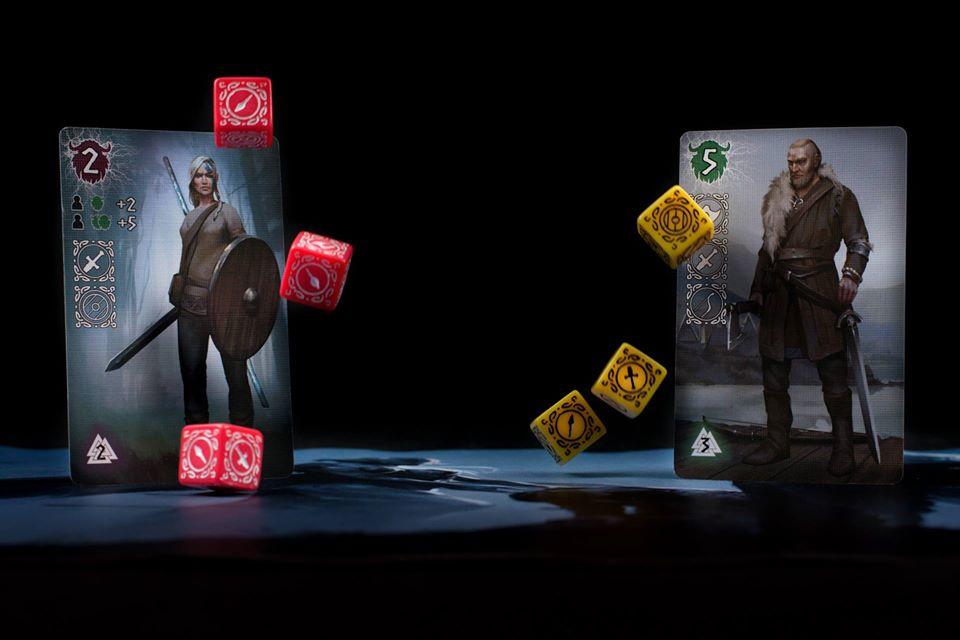Настольная игра «Вальхалла»: Нордическое кубическое рубилово 4