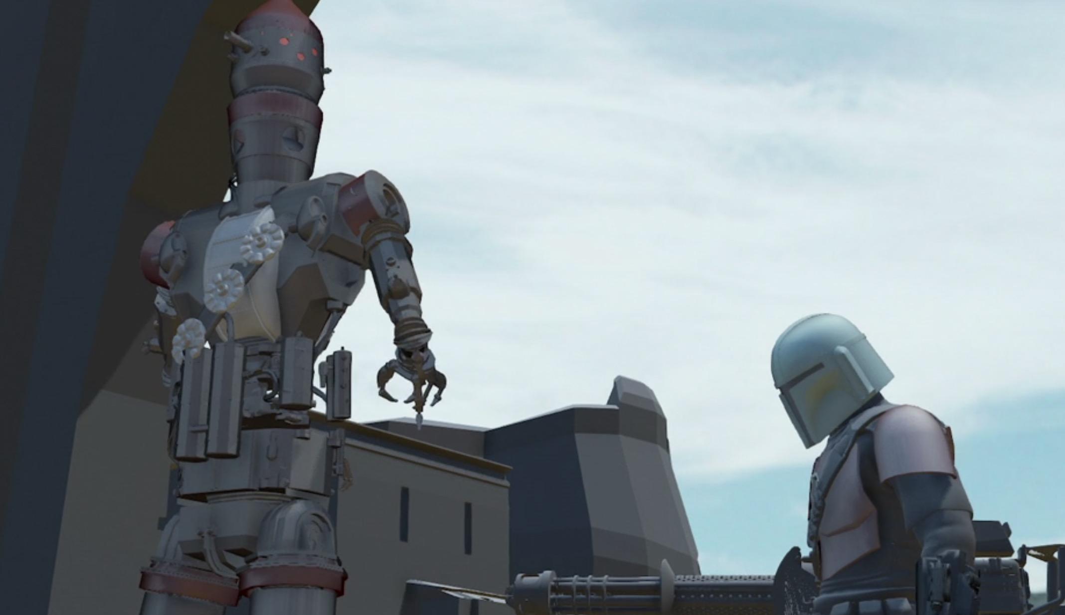 Режиссеры «Мандалорца» создали анимированные версии каждого эпизода 1