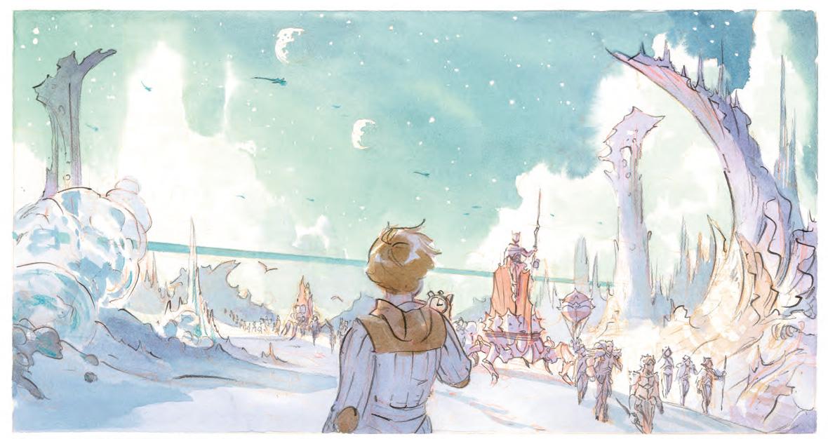 Арт: первые кадры пятого тома «Звёздного замка» Алекса Алиса
