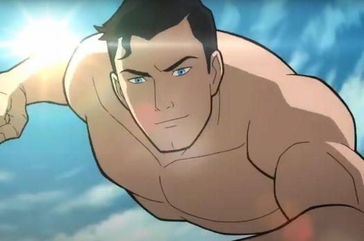 Лобо и Лекс Лютор в отрывке мультфильма Superman: The Man of Tomorrow