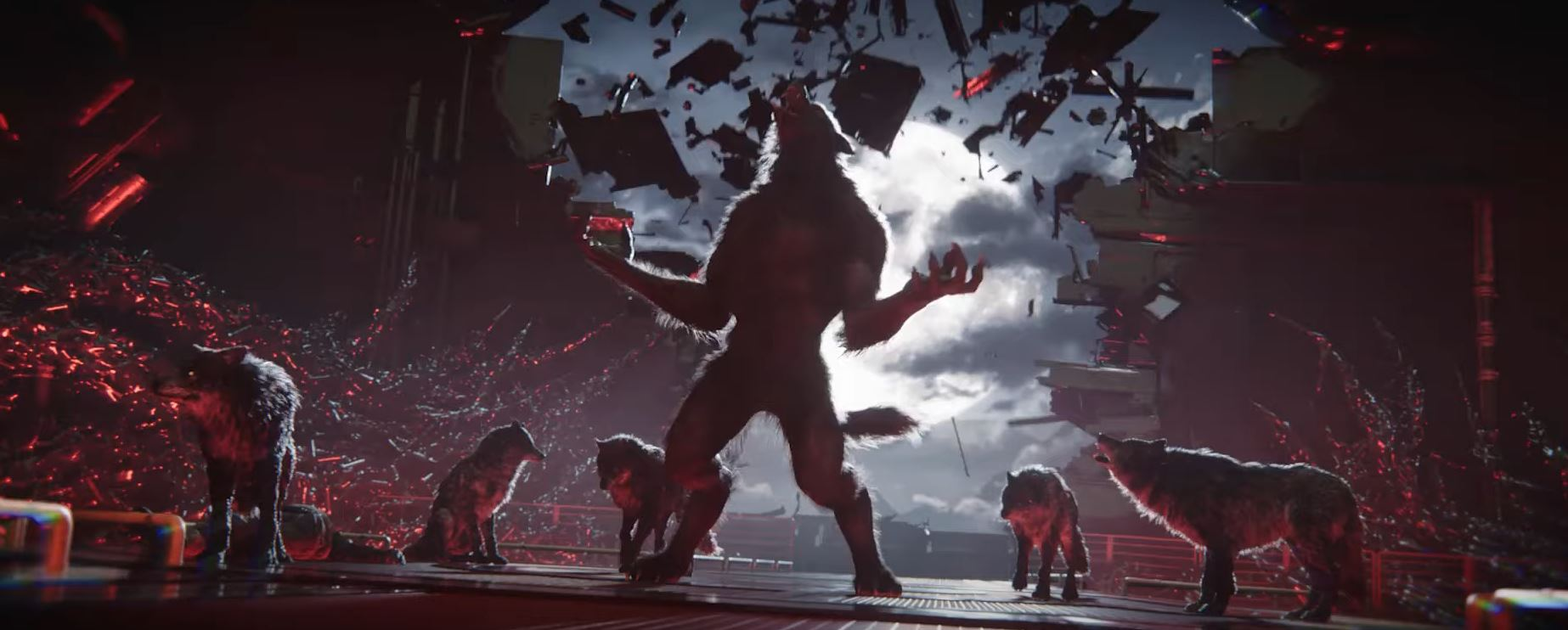 Кинематографический трейлер Werewolf the Apocalypse — Earthblood