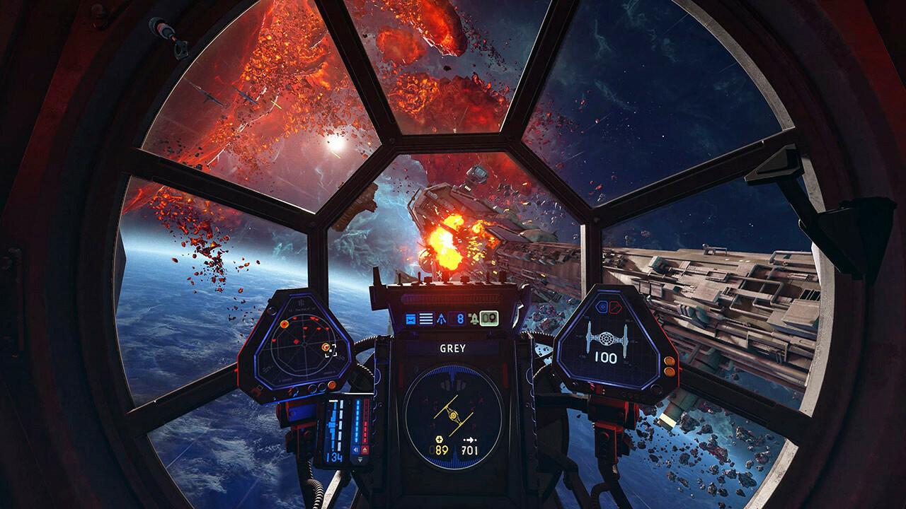 Геймплей и подробности Star Wars: Squadrons 7